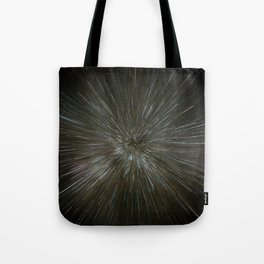 zooming towards stars Tote Bag