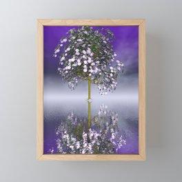 strange light somewhere -13- Framed Mini Art Print