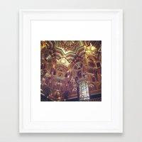 arab Framed Art Prints featuring The Arab Room by moledro