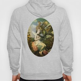 """""""The body, the soul and the garden of love"""" Hoody"""
