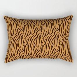 Tiger Stripes Wild Ainmal Print Rectangular Pillow