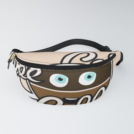 Cute Coffee Addict Fanny Pack