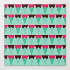 Chocolate Trees Canvas Print