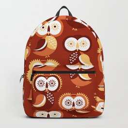 Owls, pygmy owls Backpack