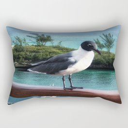 The Pigeon of Nassau Rectangular Pillow