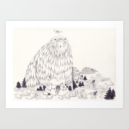 Kakkmaddafakka Art Print