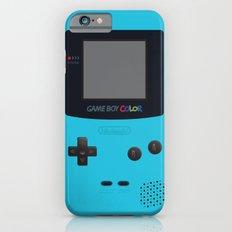 GAMEBOY Color - Light Blue Version iPhone 6 Slim Case