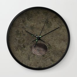 War stars: sabre for the king Wall Clock