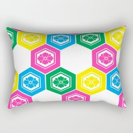 Hanabishi-Pattern, japan, Japanese Rectangular Pillow