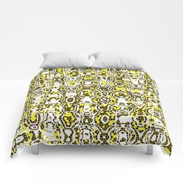 Abstract Graphic Sunny Streets Comforters