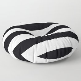 black and white Floor Pillow