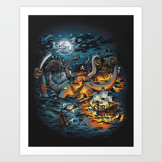 Out Arrr...med Art Print