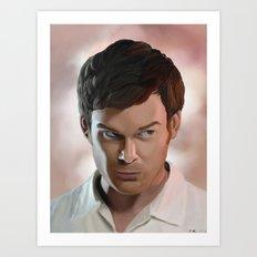 Dexter Morgan Art Print