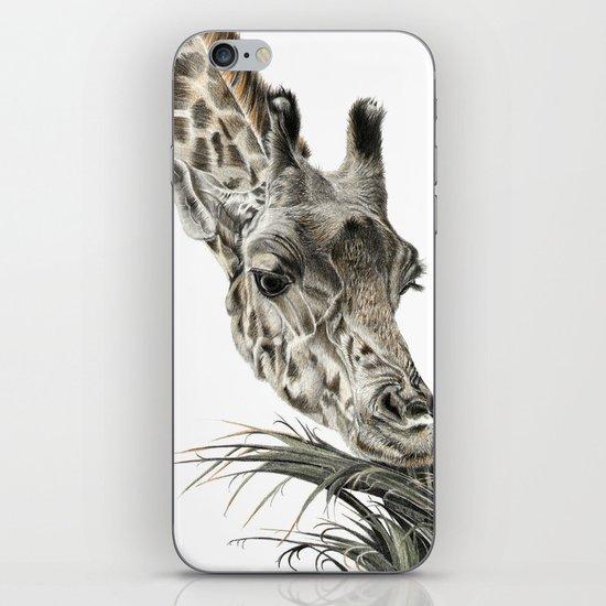 Giraffe - A Long Munch iPhone & iPod Skin