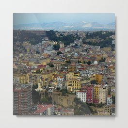 Napoli view Metal Print