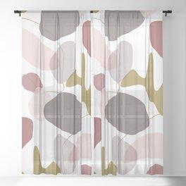 Aries Pattern Sheer Curtain