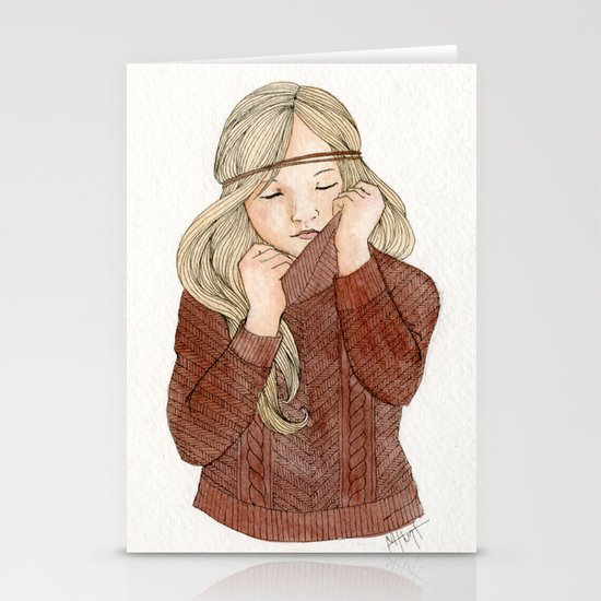 Sweater Season Stationery Cards