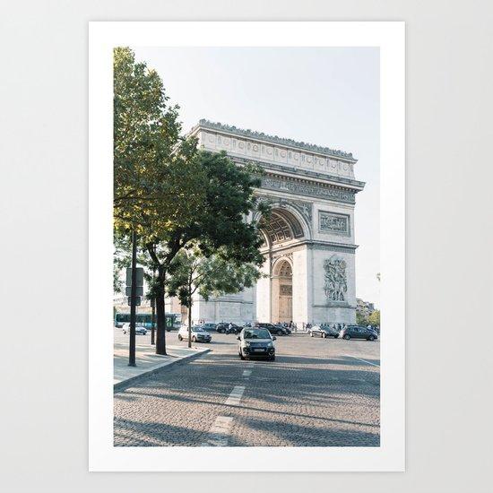 Arc de Triomphe #2 Art Print