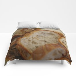 Artisan Bread Slices Comforters
