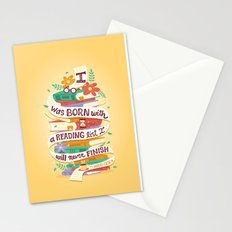 Reading list Stationery Cards