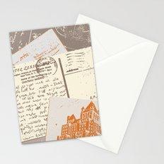 vintage postcards Stationery Cards