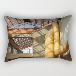 The Old Industrial College Campus Rectangular Pillow