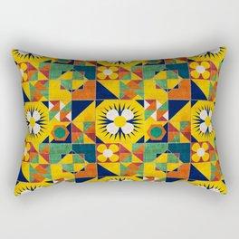 Spanish tiles Rectangular Pillow