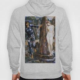 "Edward Burne-Jones ""The Rock of Doom"" Hoody"