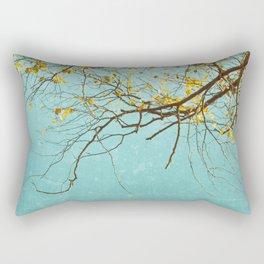 The reflected tree Rectangular Pillow