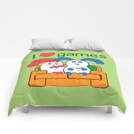 Ernest   Loves games Comforters