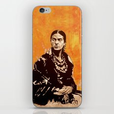 FRIDA KAHLO - the mistress of ARTs - quote iPhone & iPod Skin