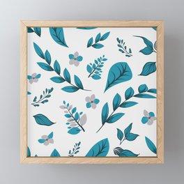 Flower Design Series 5 Framed Mini Art Print