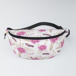 Autumn Forest Floral Fanny Pack