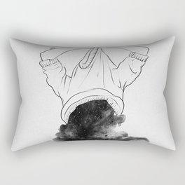 Its better to disappear. Rectangular Pillow