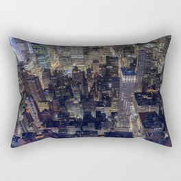 Penthouse View Rectangular Pillow