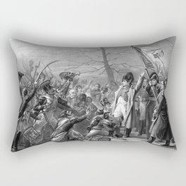 Napoleon Returns From Elba Rectangular Pillow