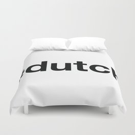 DUTCH Duvet Cover