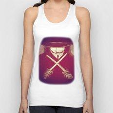 V for Vendetta4 Unisex Tank Top