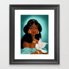 Her royal highness, the Sultana Jasmine Framed Art Print