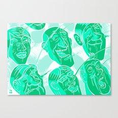 Mexan pornos Canvas Print