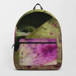 hydranjea pink and green Backpack
