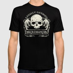 Legally Licensed Necromancer 2X-LARGE Black Mens Fitted Tee