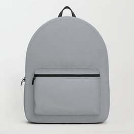 Best Seller Ultra Pale Grey Solid Color Parable to Jolie Paints French Grey - Shade - Hue - Colour Backpack