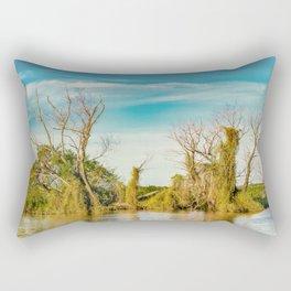 Parana River, San Nicolas, Argentina Rectangular Pillow