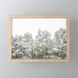 Lapse of Snow Framed Mini Art Print