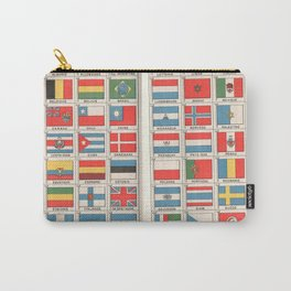 Vintage flags 1935 Carry-All Pouch