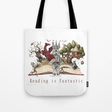 Reading is Fantastic Tote Bag