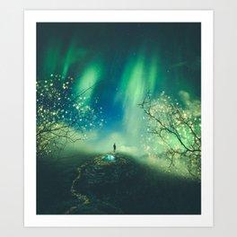 The Magic Night Art Print