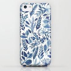 indigo scatter Slim Case iPhone 5c