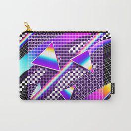 Retro Pattern Carry-All Pouch